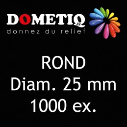 Rond Diam. 25 mm - 1000 ex