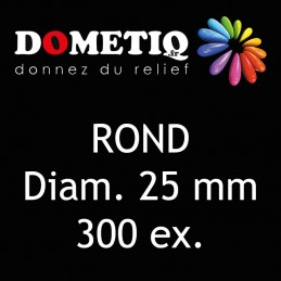 Rond Diam. 25 mm - 300 ex