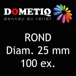 Rond Diam. 25 mm - 100 ex