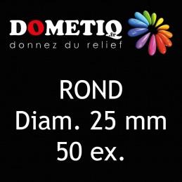 Rond Diam. 25 mm - 50 ex