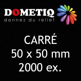 Carré 50 x 50 mm - 2000 ex