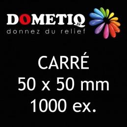 Carré 50 x 50 mm - 1000 ex