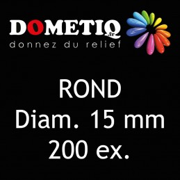 Rond Diam. 15 mm - 200 ex