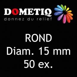 Rond Diam. 15 mm - 50 ex