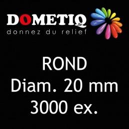 Rond Diam. 20 mm - 3000 ex
