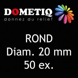 Rond Diam. 20 mm - 50 ex