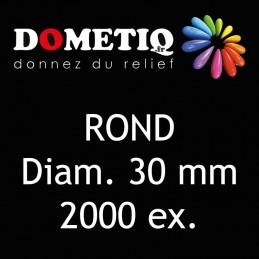 Rond Diam. 30 mm - 2000 ex
