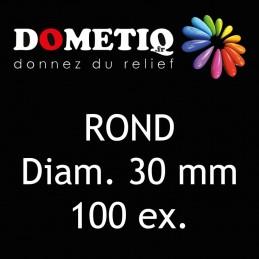 Rond Diam. 30 mm - 100 ex